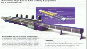 High performance tube-cutting-machines