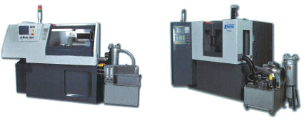 Tube cutting machine by abrasive disc and electro–chemical process