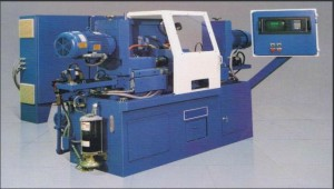 Double end finishing machine